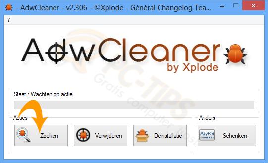 AdwCleaner versie 3.001 Download – Toolbars adware en malware gratis verwijderen