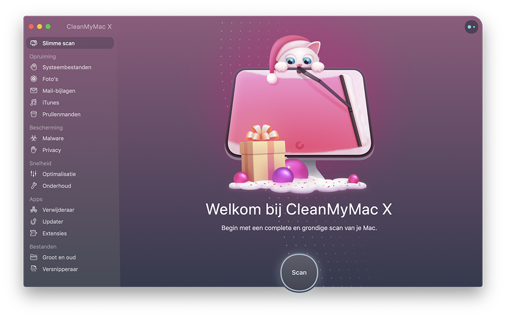 cleanmymac - slimme scan 2019