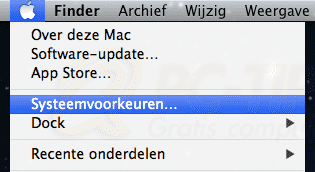 Mac osx opschonen - opstart items