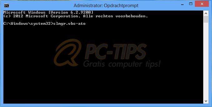 Windows 8 productcode wijzigen na installatie