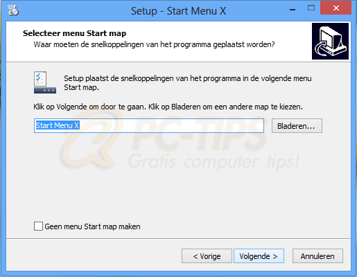 Windows 8 Startknop