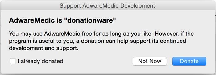 adware medic - donate