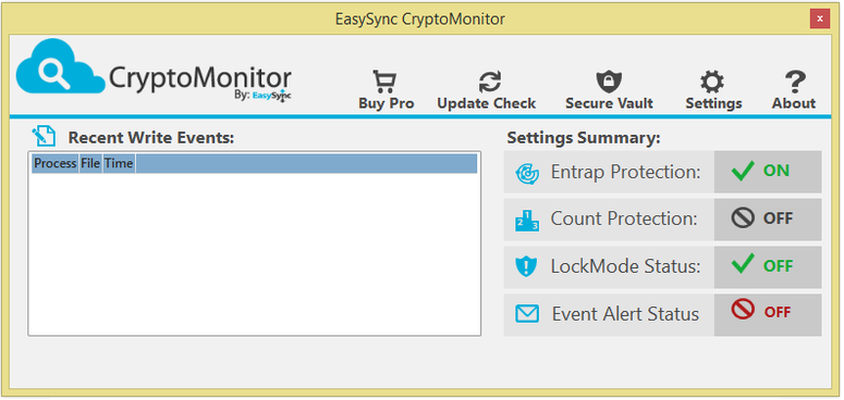 easysync cryptomonitor