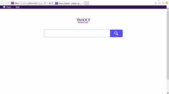 nl.search.yahoo.com startpagina verwijderen