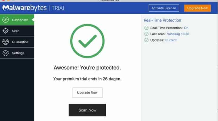 Malwarebytes voor Mac Review en Download