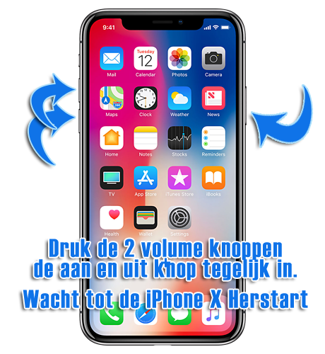 iphone x reset iphone 10 resetten