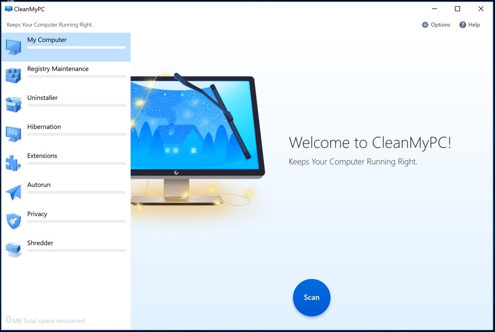 clean my pc start scan