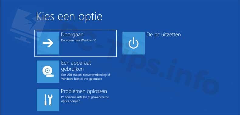 windows-10-geavanceerde-opstart-opties