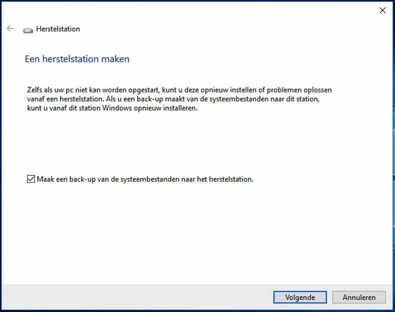 windows-10-herstelstation-maken