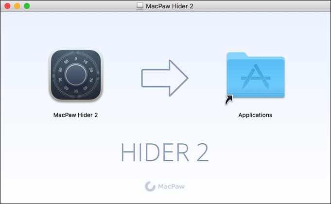 hider installeren mac