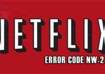 Netflix fout error NW-2-5