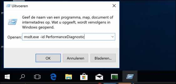 Windows Probleemoplosser - Windows sneller opstarten