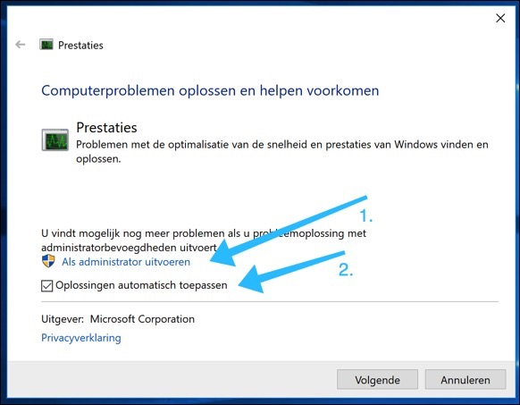 windows probleemoplosser msdt
