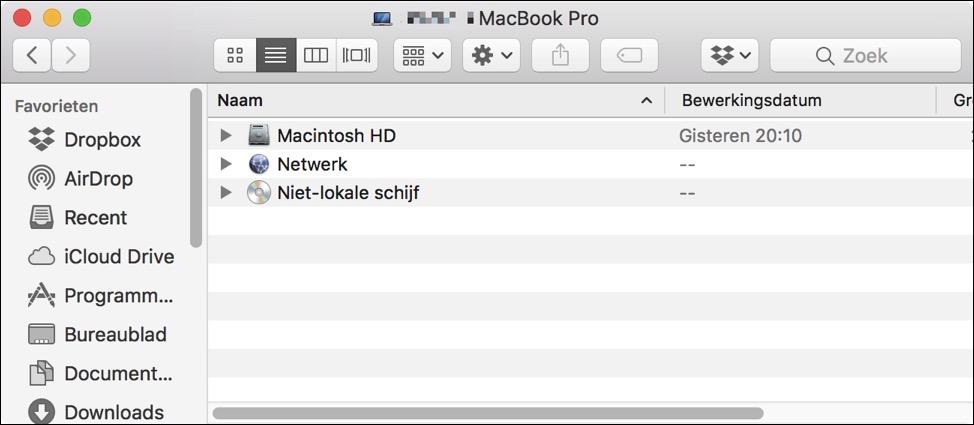 verborgen bestanden weergeven mac
