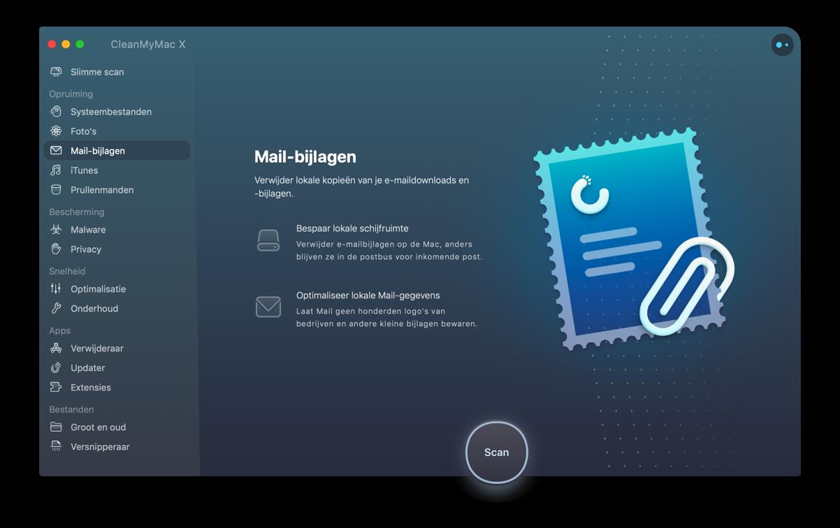 cleanmymac mail-bijlagen