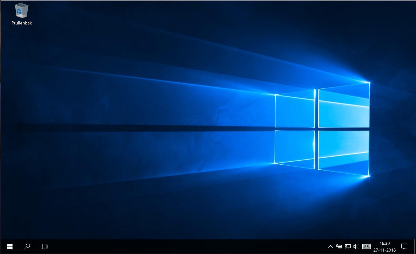 windows 10 opnieuw geïnstalleerd voltooid