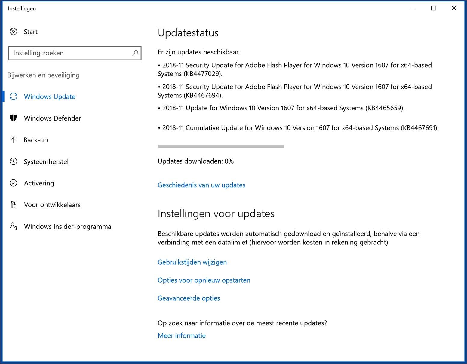 windows automatische updates uitschakelen