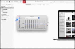 itunes volume aanpassen mac