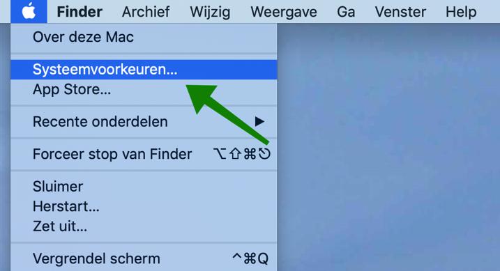 mac taal wijzigen systeemvoorkeuren