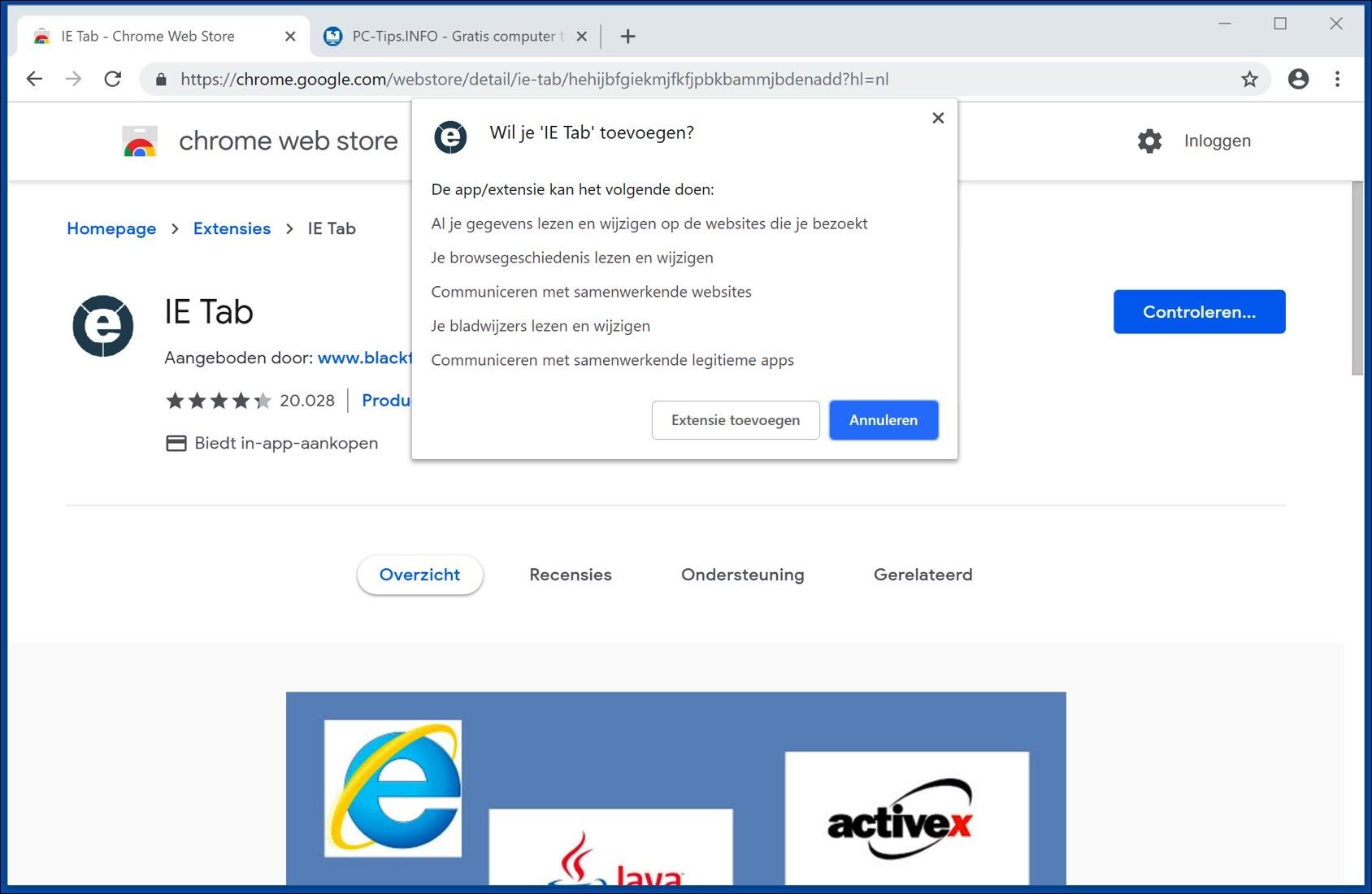 silverlight installeren google chrome