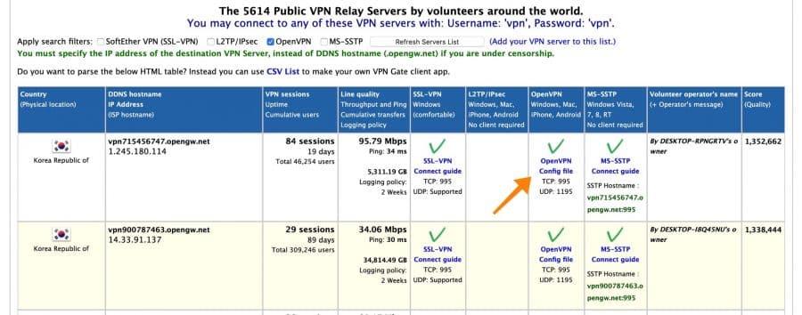 openvpn servers gratis vpn mac