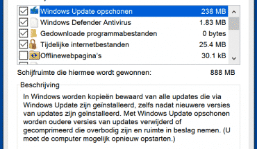 windows bestanden opruimen windows 10 sneller maken