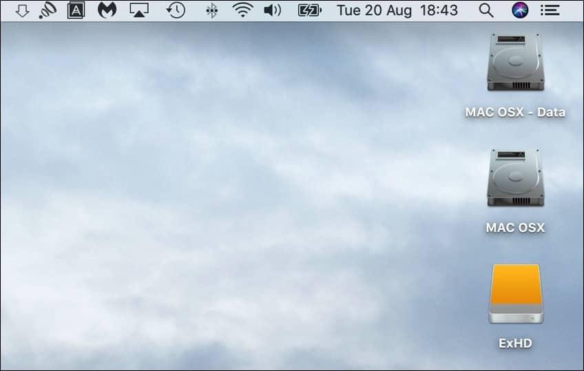 snelkoppelingen mac desktop verwijderen