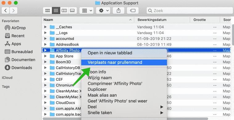Application Support folder mac osx