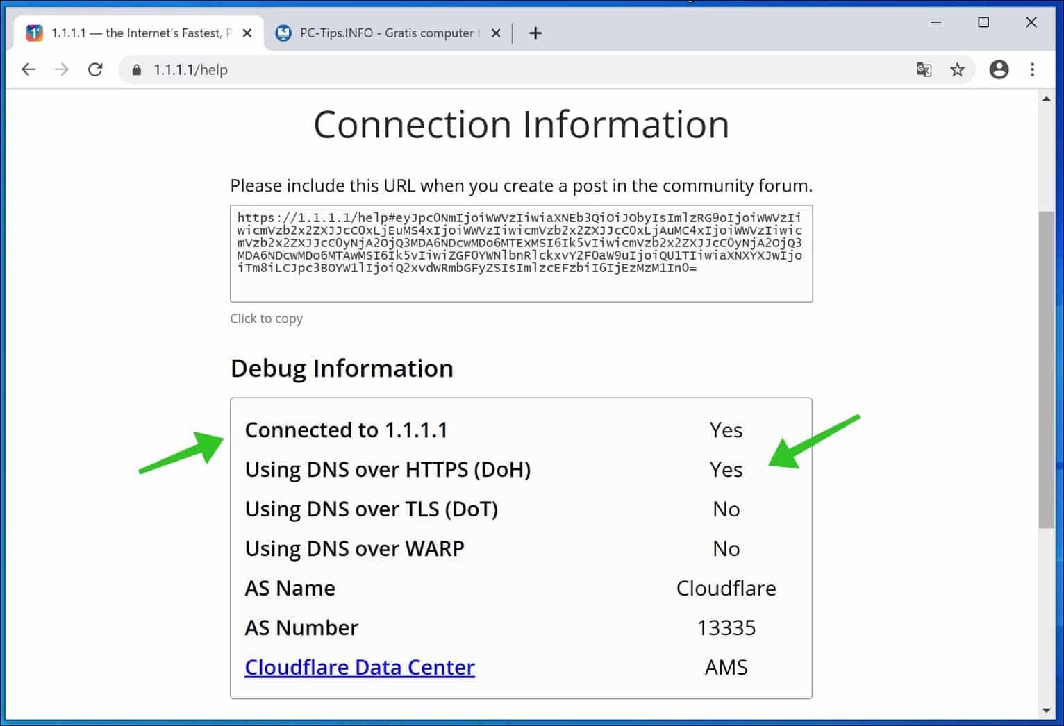 DNS over HTTPs voor Google Chrome
