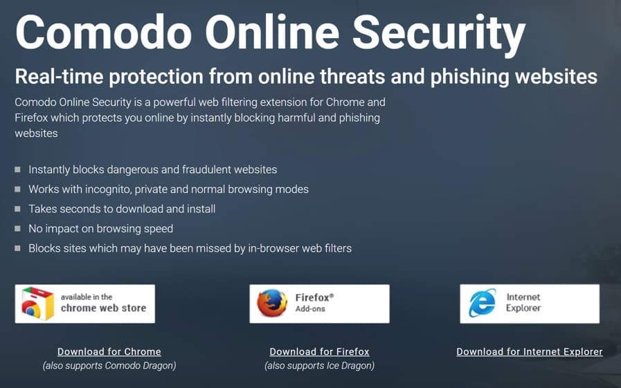 Comodo Online Security
