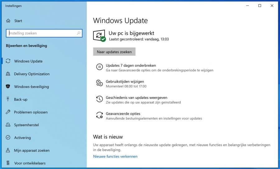 windows updates bijwerken