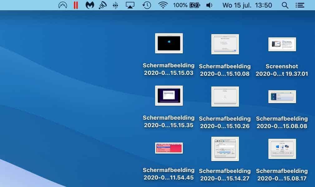 bureaublad mac