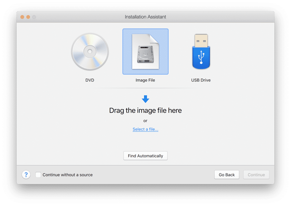 install windows dvd usb of image bestand