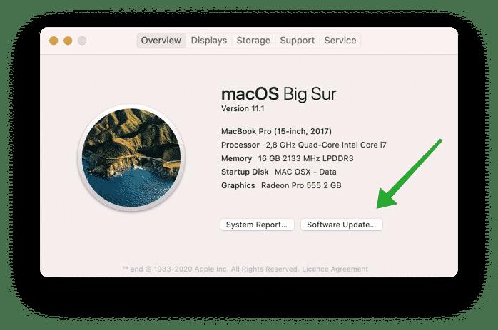 make mac faster using updates
