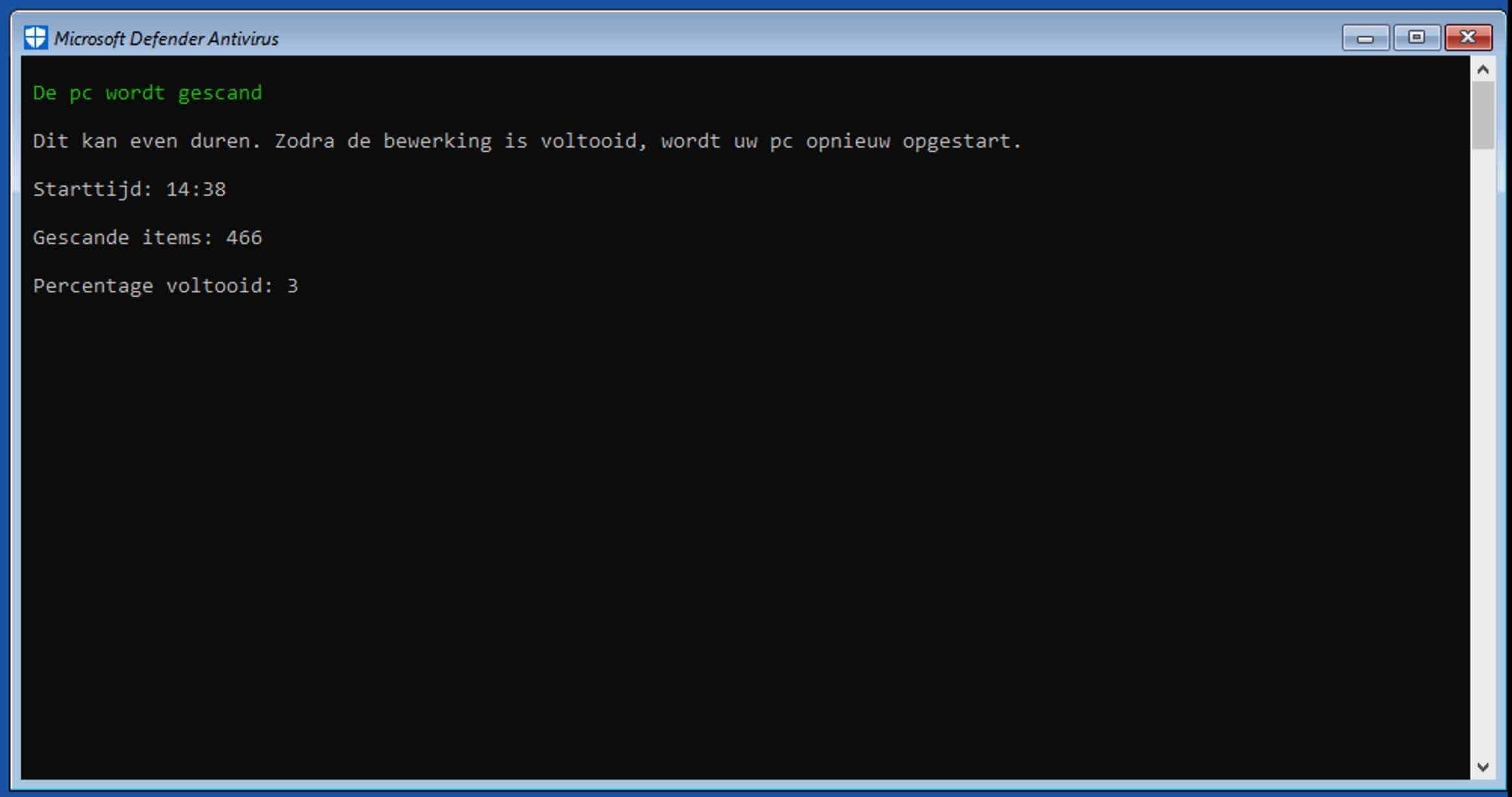 windows defender offline scannen