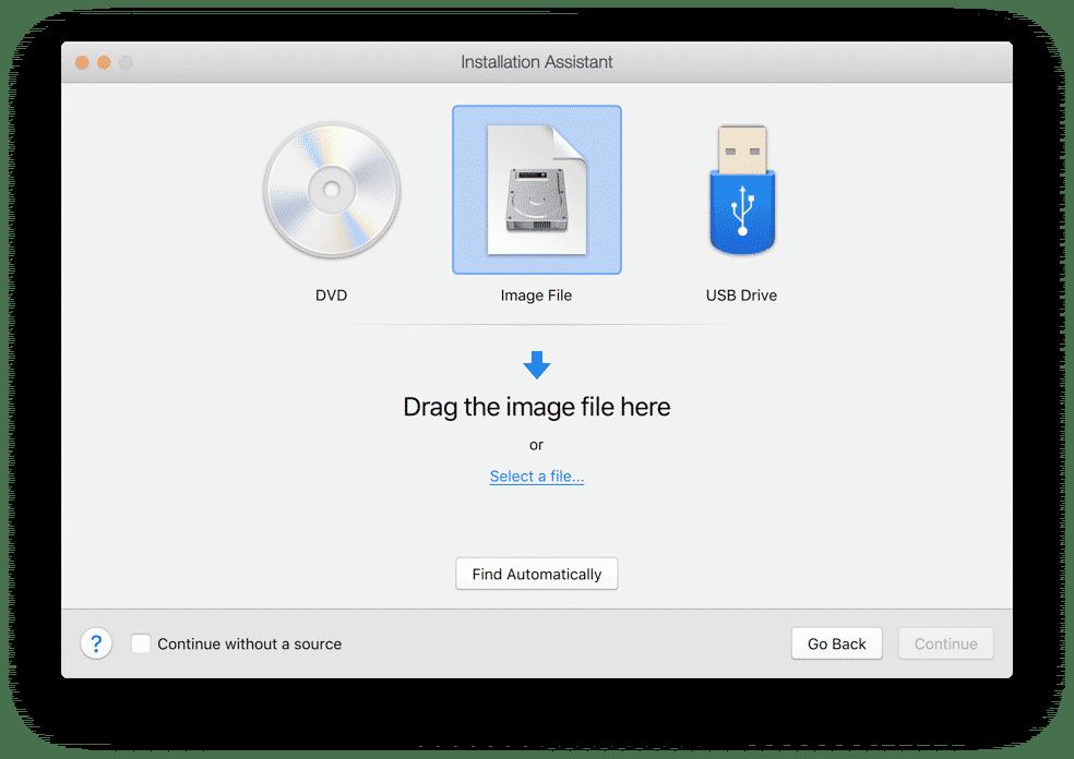 windows installeren dvd usb of image bestand