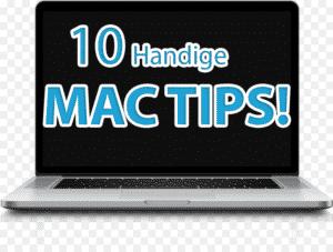 10 mac tips en trucs
