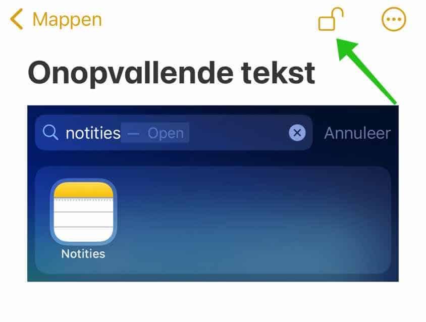 foto beveilingen met wachtwoord iphone ipad