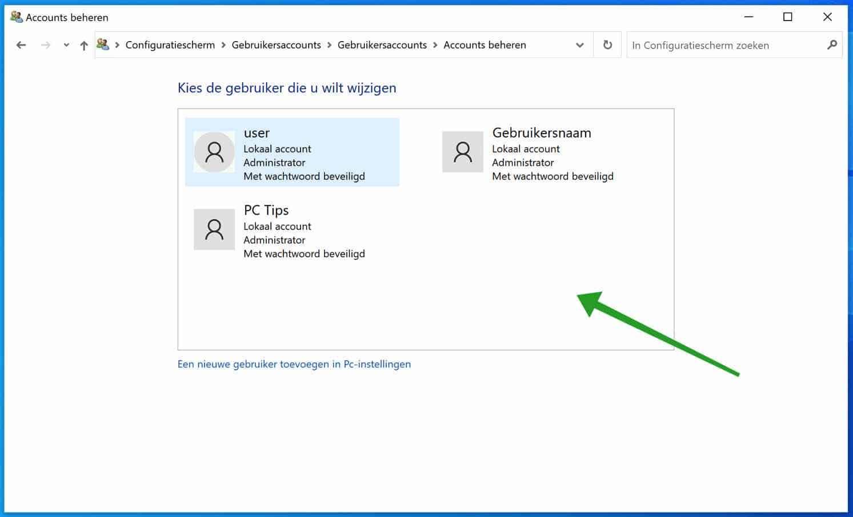 5 manieren om gebruiker accounts weer te geven in Windows 10