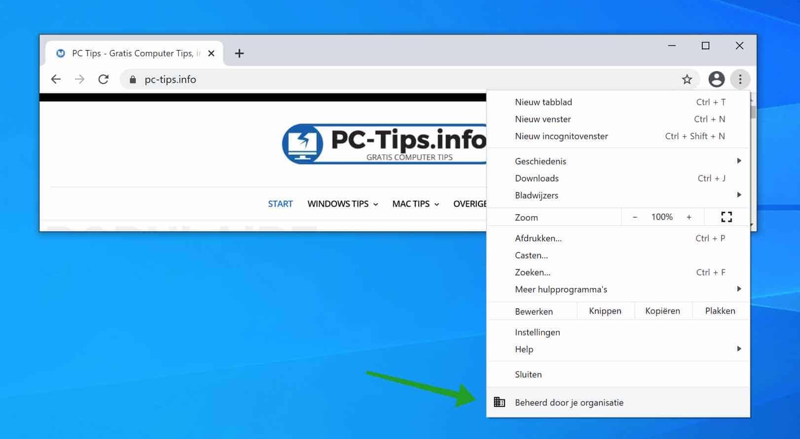 Beheerd door je organisatie browser verwijderen (DIT WERKT!!)