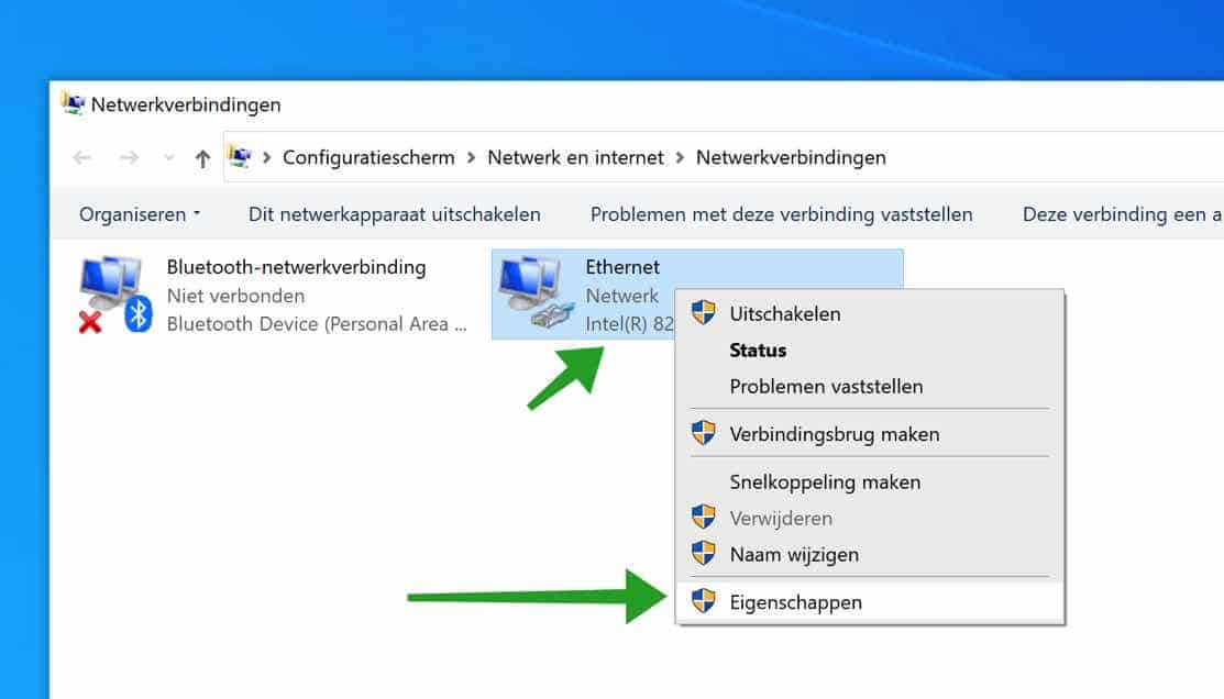 Netwerkverbindingen