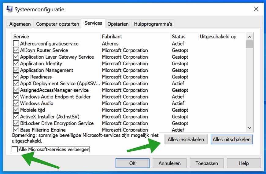 Windows schoon opstarten zonder apps? Dit is hoe!