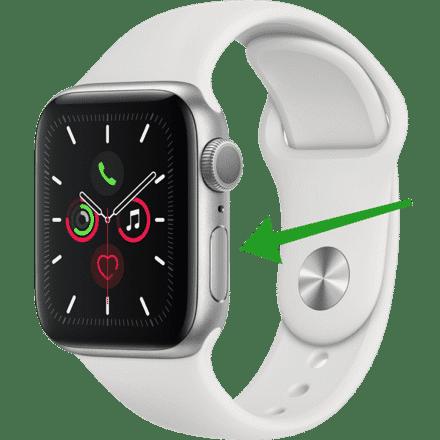 apple watch alle actieve apps openen