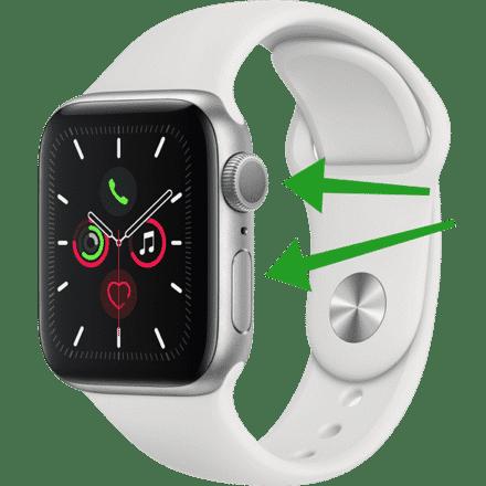 apple watch geforceerd herstarten