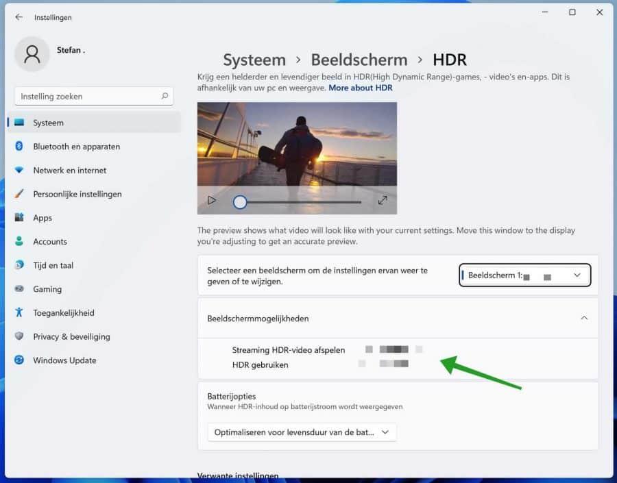 Auto HDR inschakelen in Windows 11