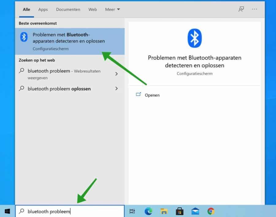 Bluetooth probleem oplosser