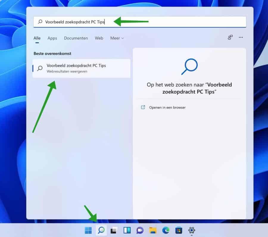 Veilig zoeken filter inschakelen in Windows 11