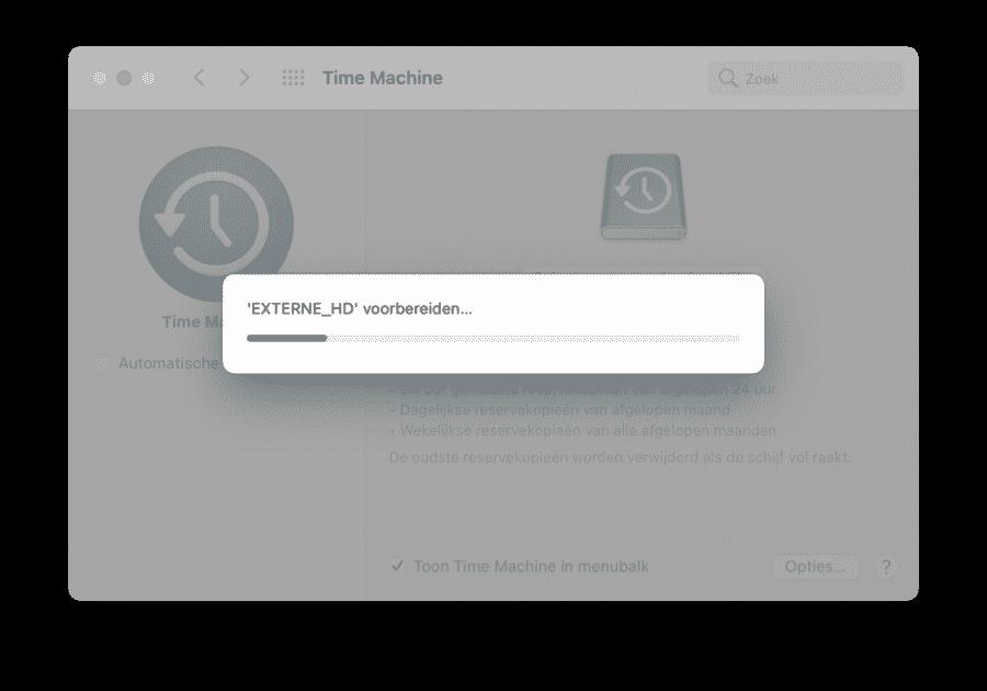 Externe Mac schijf klaar maken voor gebruik