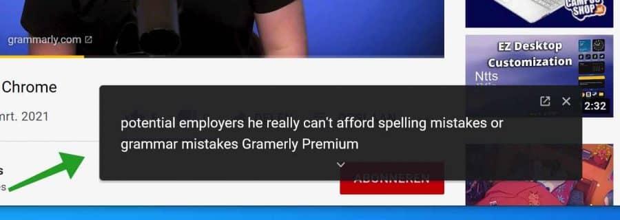 Live ondertiteling inschakelen in Google Chrome