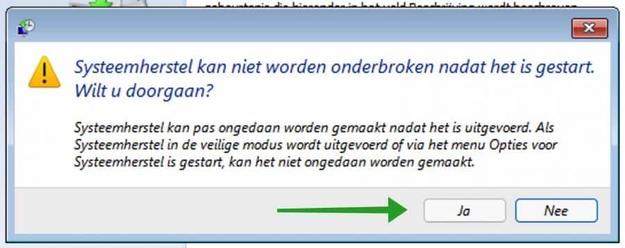 Systeemherstel uitvoeren via geavanceerde opstartopties in Windows 11